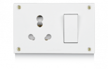 Penta 20A & 10A, Uni Switch Socket Combined Units with (4 fixing Holes) Features, Specifications - Others Online India - Panasonic Life Solutions India