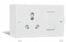 Penta 20A & 10A, Uni Switch Socket Combined Units Boxes with (2 fixing Holes) Features, Specifications - Others Online India - Panasonic Life Solutions India
