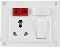 Penta 20A & 10A, Euro Capton 5-in-1 (2 fixing holes) Features, Specifications - Switches Online India - Panasonic Life Solutions India