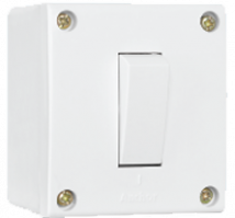 Penta 20A, 1 Way Switch with Box, Urea Backpiece - Features, Specifications - Switches Online India - Anchor by Panasonic