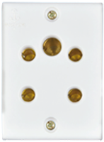 Penta 6A, 3-in-1 Socket(2Pin + 3Pin Socket) Features, Specifications - Socket Online India - Panasonic Life Solutions India