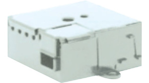 Two channel contact interface for installation in the back of a box