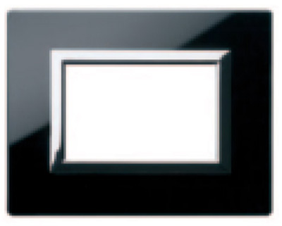 Glass clear absolute black - NAL