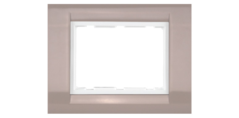 TRESA  GLOSSY  - Glossy  Colour Plates (with white base frame)