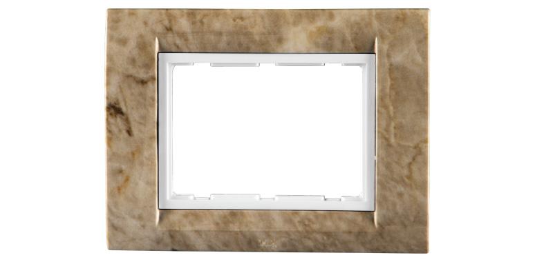 TRESA TEXTURE- TEXTURE Colour Plates (With white Base Frame)