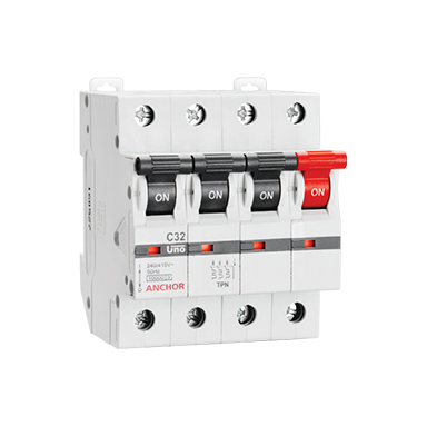 TPN MCB 'C' TYPE | Anchor Electricals