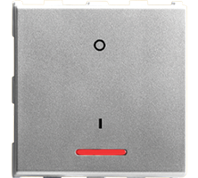 32A, D.P, 1Way Switch with Indicator, 2M