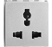 16A/10A/13A, Combi Socket for all Pins, 2M
