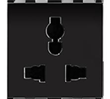 6A/10A/13A, Combi Socket for all Pins, 2M