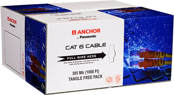 UTP 4 Pair CAT 6 LAN Cable