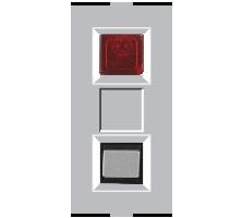 Roma Silver, Bell Indicator 240V~50Hz