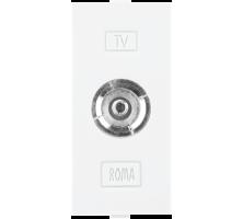 Roma White, T.V Socket Outlet Single
