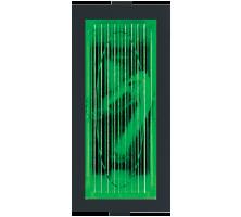 Roma Black, Neon Indicator Green