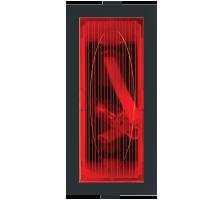 Roma Black, Neon Indicator Red