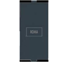 Roma Black, Blank  Plate Single