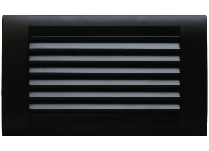 Roma Black, Foot Lamp (Louvres)With 4M box & Tresa Cover