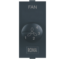 Roma Black, Fan Step Regulator Tiny EME 100W