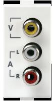 Roma Plus, Audio Video Socket,289107 1M