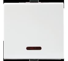 Roma Plus, 10AX, 1 Way Switch with LED indicator, 2M