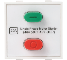 Roma Plus, 20A Motor Starter Switch, 240v~50Hz