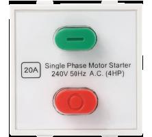 Roma Plus, 20A Motor Starter Switch, 240v~50Hz