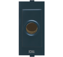 Roma Black, Cord Outlet With Grip