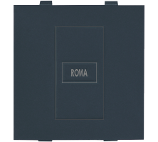 Roma Black, Blank Plate Dura