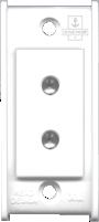6A, 2 Pin Round Socket