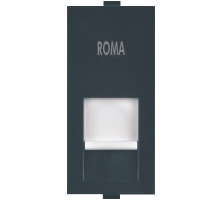 Roma Black, RJ 45, Computer Socket Cat 5e