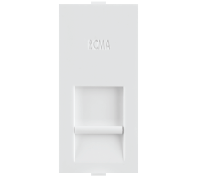 Roma White, RJ 45, Computer Socket Cat 5e