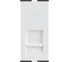 Roma White, RJ 45, Computer Socket Cat 5e