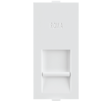 Roma White, RJ 45, Computer Socket Cat 6