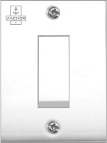 Deluxe Series 20A, 1 Way Switch (Urea Backpiece)