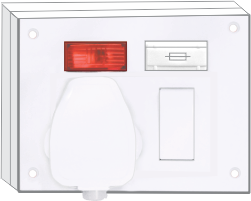 20A & 10A, Captons 5-in-1 Withbox & 16A ISI Plug (4 Fixing Holes)