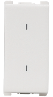 10AX, 250V, 2 Way,1 Module Switch