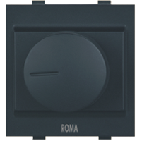 Roma Black Dimmer For Halogen Dura 650W