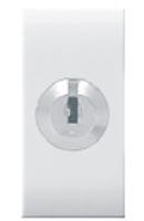 16AX, 1 Way Double Pole Switch with Key