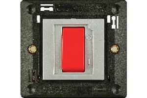45 AX, 1 Way Double Pole Switch