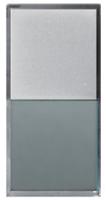 Lampholder with transparent diffuser & label holder