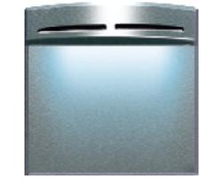 Stair riser light with Blue LED