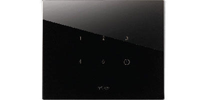 Glass Black for 5 Speed Touch Fan Regulator