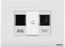 Indicator Marked Do Not Disturb/Make My Room