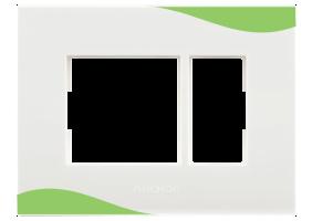 Pastel Green Plates
