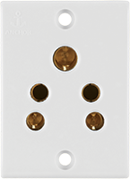 6A, 2 in 1 Socket