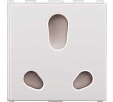 20A/10A, Twin Socket, 2M