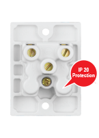 6A,  2-in-1 Socket, Urea Back piece (IP 20)