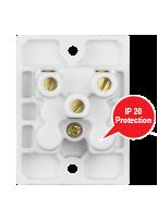 6A,  2-in-1 Socket, Urea Back piece (IP 20)