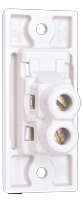6A, 1 way switch, Urea Back piece(IP 20)