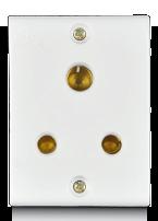 6A, 3 pin Socket