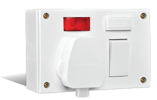 20A/10A,Capton 5-in-1 With Box and 16A Plug, 4 Fixing Holes